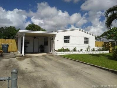 1410 N 68th Ave, Hollywood, FL 33024 - MLS#: A10524294