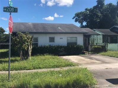 2810 NW 208th St, Miami Gardens, FL 33056 - MLS#: A10525017