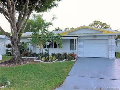 1025 NW 90th Way, Plantation, FL 33322 - MLS#: A10525140