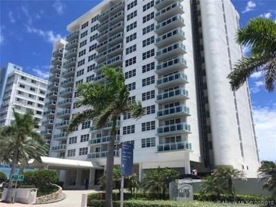 6917 Collins Ave UNIT 602, Miami Beach, FL 33141 - MLS#: A10525207