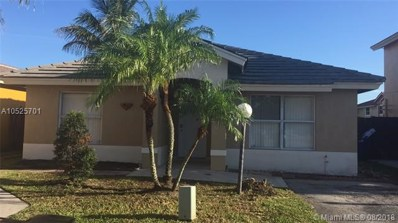 18816 NW 52nd Ct, Miami Gardens, FL 33055 - MLS#: A10525701