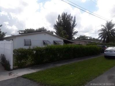 3848 SW 33rd Ct, West Park, FL 33023 - MLS#: A10528206