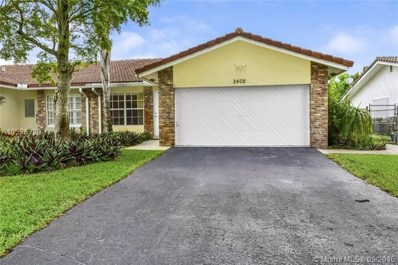 2408 NW 91st Ave, Coral Springs, FL 33065 - #: A10528320