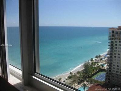 2030 S Ocean Dr UNIT 2219, Hallandale, FL 33009 - MLS#: A10528444