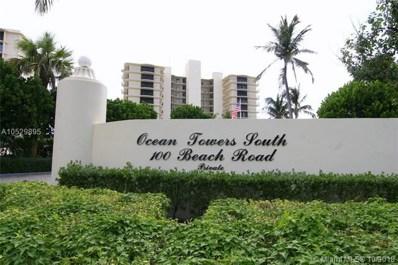 100 Beach Road UNIT PH-C, Tequesta, FL 33469 - MLS#: A10529895