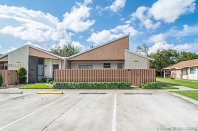 15748 Woodgate Court UNIT E, Sunrise, FL 33326 - MLS#: A10530643