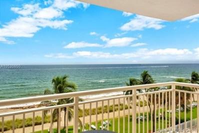 1051 Hillsboro Mile UNIT 508E, Hillsboro Beach, FL 33062 - MLS#: A10530850