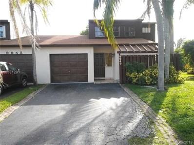 9949 SW 16th St, Pembroke Pines, FL 33025 - #: A10531201