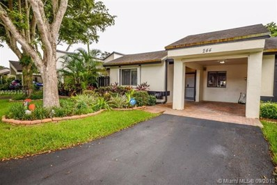 244 Fairway Cir UNIT 86, Weston, FL 33326 - MLS#: A10531301