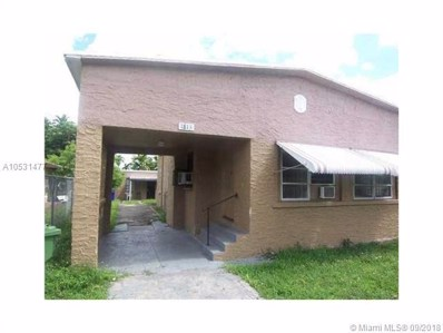 1813 NW 44th St, Miami, FL 33142 - MLS#: A10531477