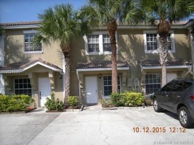 336 SW 121, Pembroke Pines, FL 33025 - MLS#: A10531600