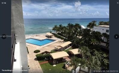3505 S Ocean Dr UNIT 618, Hollywood, FL 33019 - MLS#: A10532443