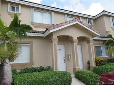 2369 SE 23 UNIT DR, Homestead, FL 33035 - MLS#: A10533580