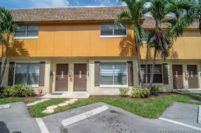 823 NW 46th Ave UNIT 823, Plantation, FL 33317 - MLS#: A10533708