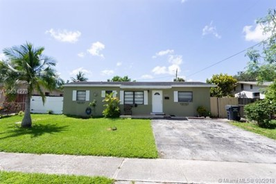 6464 Meade St, Hollywood, FL 33024 - MLS#: A10534273