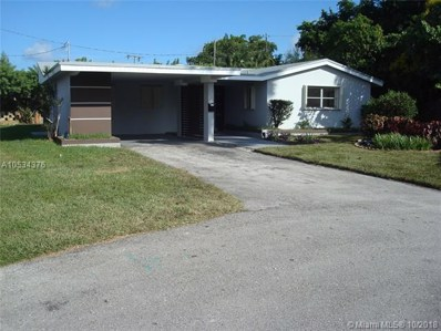 50 NW 33rd St, Oakland Park, FL 33309 - MLS#: A10534376