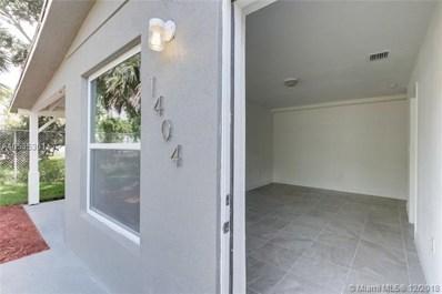 1404 SW 33rd Court, Fort Lauderdale, FL 33315 - MLS#: A10535361