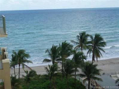 2080 S Ocean Dr UNIT 609, Hallandale, FL 33009 - MLS#: A10535470