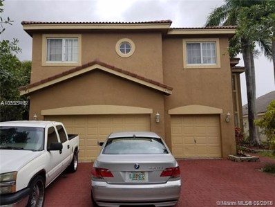 1490 SW 164th Ave, Pembroke Pines, FL 33027 - MLS#: A10535492