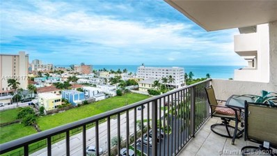 1201 S Ocean Dr UNIT 808N, Hollywood, FL 33019 - MLS#: A10536177