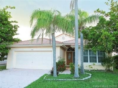 510 SW 181st Way, Pembroke Pines, FL 33029 - MLS#: A10536323