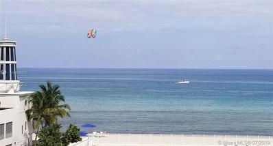 3505 S Ocean Dr UNIT 407, Hollywood, FL 33019 - MLS#: A10536572