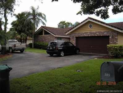 383 NW 113th Ave, Coral Springs, FL 33071 - MLS#: A10536787