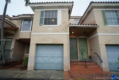 765 SW 148th Ave UNIT 1209, Sunrise, FL 33325 - MLS#: A10536995