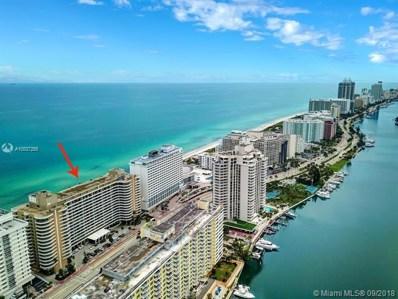 5555 Collins Ave UNIT 3D, Miami Beach, FL 33140 - MLS#: A10537255