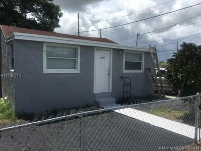 728 SW 7th St, Homestead, FL 33030 - MLS#: A10537518