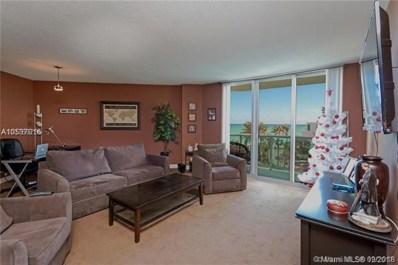3901 S Ocean Dr UNIT 4L, Hollywood, FL 33019 - MLS#: A10537916