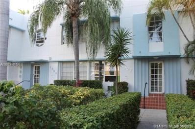 1007 Meridian Ave UNIT 10, Miami Beach, FL 33139 - MLS#: A10538150