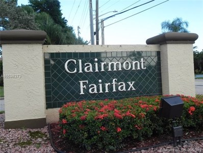 7600 Fairfax Dr UNIT 101, Tamarac, FL 33321 - MLS#: A10538373