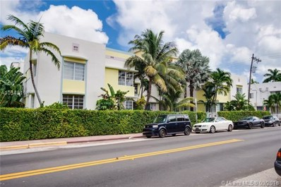 831 10 St UNIT 202, Miami Beach, FL 33139 - MLS#: A10540198