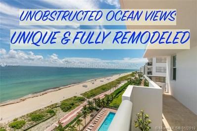 6039 Collins Ave UNIT 1218, Miami Beach, FL 33140 - MLS#: A10540621