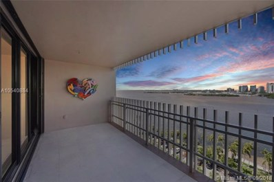 1 Grove Isle Dr UNIT A1410, Miami, FL 33133 - #: A10540884