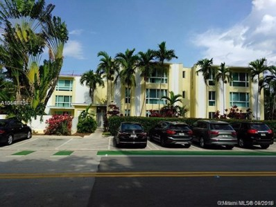 9971 W Bay Harbor Dr UNIT 205, Bay Harbor Islands, FL 33154 - MLS#: A10541114