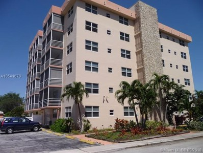 1830 Dixiana UNIT 503, Hollywood, FL 33020 - MLS#: A10541670