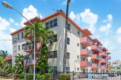 525 Meridian Ave UNIT 307, Miami Beach, FL 33139 - MLS#: A10541846