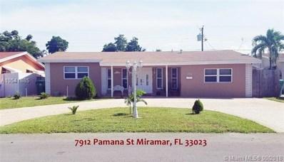 7912 Panama St, Miramar, FL 33023 - MLS#: A10541885