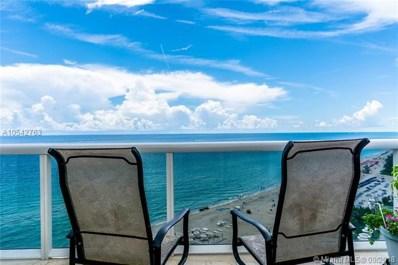 18101 Collins Av UNIT 1407, Sunny Isles Beach, FL 33160 - MLS#: A10542763