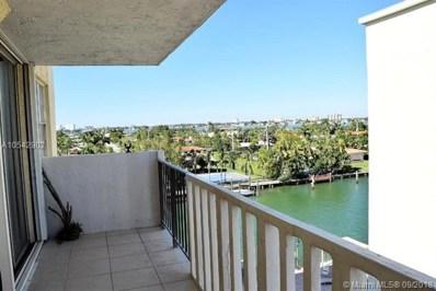 10000 W Bay Harbor Dr UNIT 524, Bay Harbor Islands, FL 33154 - MLS#: A10542902