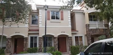 2706 SW 82nd Ave UNIT 106, Miramar, FL 33025 - MLS#: A10543874