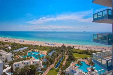 100 S Pointe Dr UNIT 1610, Miami Beach, FL 33139 - MLS#: A10544678