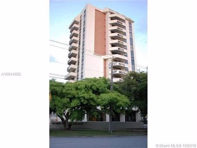 911 E Ponce De Leon Blvd UNIT 1601, Coral Gables, FL 33134 - MLS#: A10544982
