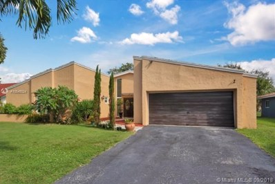 8713 NW 27th St, Coral Springs, FL 33065 - MLS#: A10545024