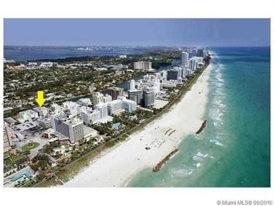 2939 Indian Creek Dr UNIT 403, Miami Beach, FL 33140 - MLS#: A10545477