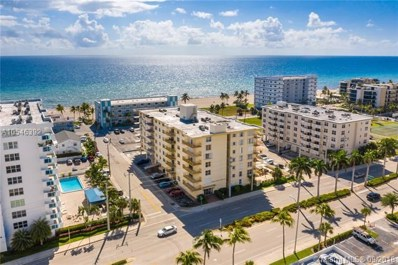 1801 S Ocean Dr UNIT 602, Hollywood, FL 33019 - MLS#: A10546392