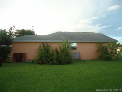 997 SW 7th Pl, Florida City, FL 33034 - MLS#: A10547578