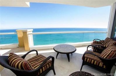 17875 Collins Ave UNIT 3402, Sunny Isles Beach, FL 33160 - MLS#: A10548077